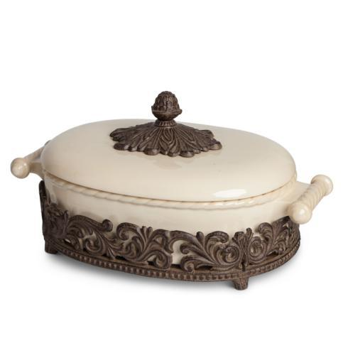 2.5qts Acanthus Casserole Dish collection with 1 products