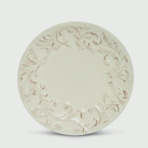 """$105.00 11""""Acanthus Set of 4 Dinner Plates"""