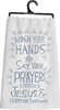 $9.99 Jesus and Germs Dish Towel