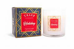 Trapp   TRAPP Holiday Large Candle  $33.00