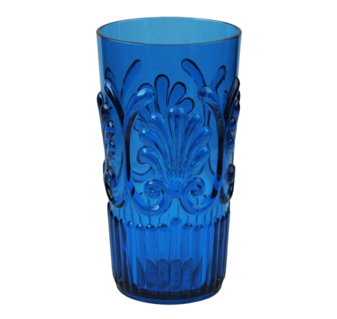Fleur Blue Large Tumbler  collection with 1 products
