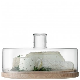 $125.00 Cheese/Pastries Glass Dome