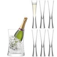 LSA International   Champagne Serving Set $199.00