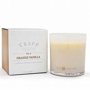 Trapp   Orange Vanilla Large Candle  $33.00