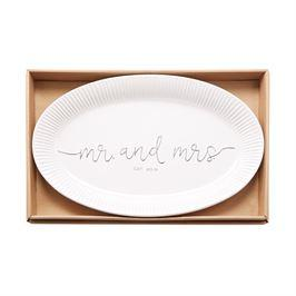 $52.00 Mr Mrs Est 2019 Platter