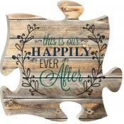 P. Graham Dunn   Happy Ever After Puzzle Wall Art  $15.95