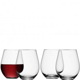 LSA International   Stemless Red Wine Glasses Set of 4 $65.00