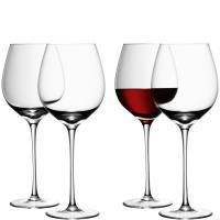 LSA International   Stemmed Red Wine Glass Set of 4  $100.00