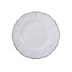 """Le Cadeaux   Rustica Antique White  9"""" Salad Plate  $12.95"""