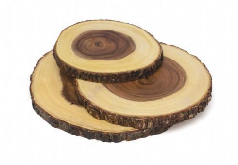 Lipper International   Set of 3 Bark Slab Boards  $53.00