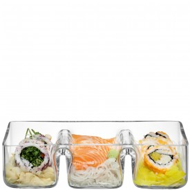 Glass Trio Dish  collection with 1 products