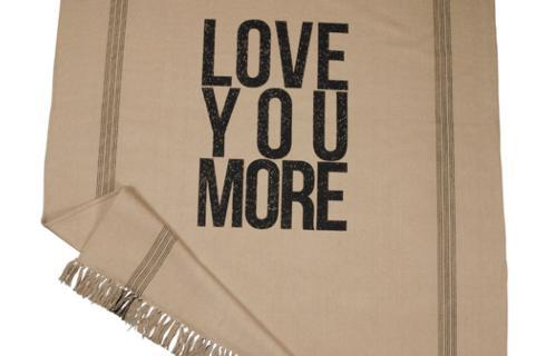 Primitives by Kathy   Love You More Throw  $49.95