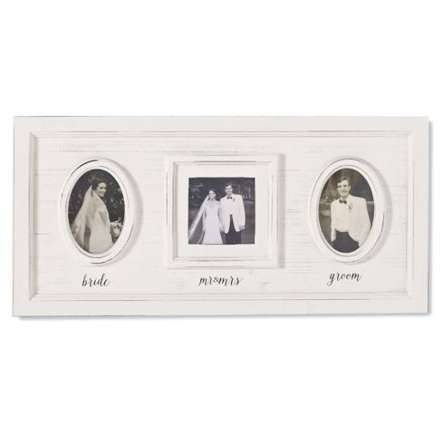 Mudpie   Triple Photo Wedding Frame  $48.95