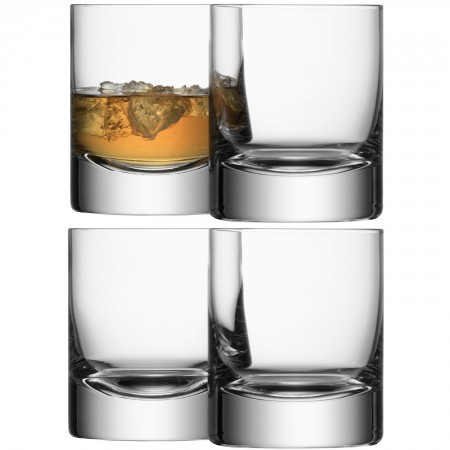 LSA International   Double Old Fashioned Set of 4 Tumblers  $70.00