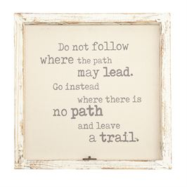 Mudpie   Where the Path Leads Frame  $65.00