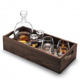 LSA International   Whisky Islay Connoisseur Set & Walnut Tray  $399.99