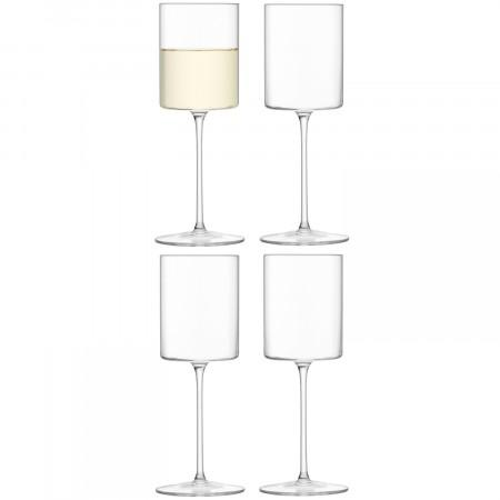Stemmed White Wine Set of 4  collection with 1 products