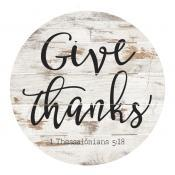 Give Thanks Barrel Sign collection with 1 products