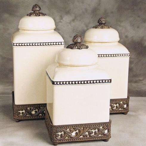 Gracious Goods   Large Cream Canister  $72.00