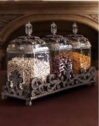 Gracious Goods   Set of 3 Glass Canisters  $297.00