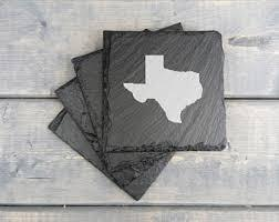 TEXAS Slate Coasters  collection with 1 products