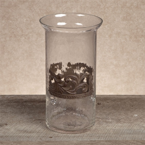 $95.00 Large Candle with Metal Holder