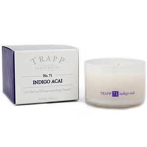 $33.00 TRAPP Indigo Acai Large Candle