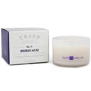 Trapp   TRAPP Indigo Acai Large Candle  $33.00