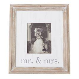 Mudpie   Large Mr & Mrs Frame  $52.95