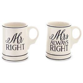 Mudpie   Mr Mrs Box Mug Set  $26.95