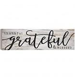 P. Graham Dunn   Thankful & Blessed Sign  $32.00