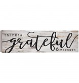 Thankful & Blessed Sign  collection with 1 products