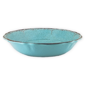 Le Cadeaux   Turquoise Salad Bowl  $37.00