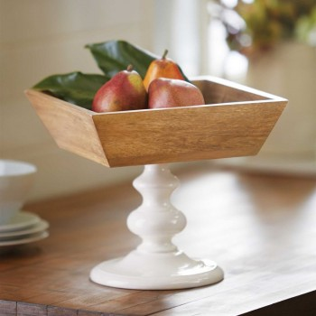 Square Pedestal Bowl  collection with 1 products