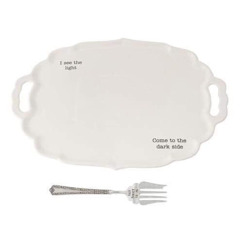 Mudpie   Dark/Light Turkey Platter  $59.95