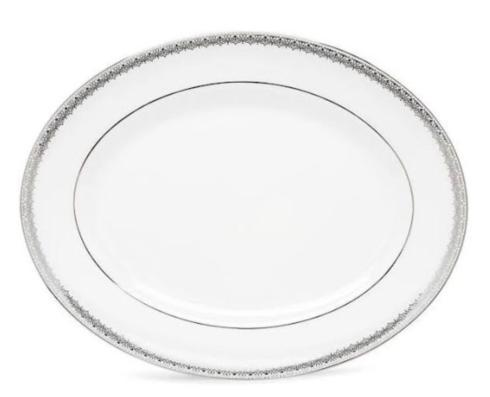 Lenox  Fine China Lace Couture Oval Platter $260.00
