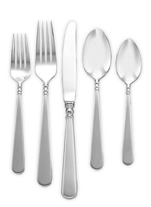 Lenox  Stainless Flatware Pearl Platinum 5pc Place Setting $57.00