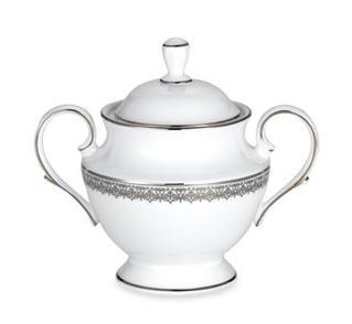 Lenox  Fine China Lace Couture Sugar Bowl $165.00