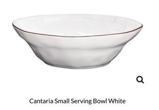 $44.00 Cantaria Small Serve Bowl