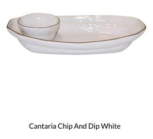 $121.00 Cantaria Chip and Dip