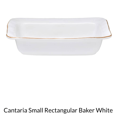 $60.00 Cantaria Sm Rectangular Baker