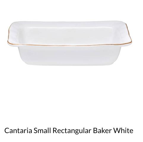 $65.00 Cantaria Sm Rectangular Baker