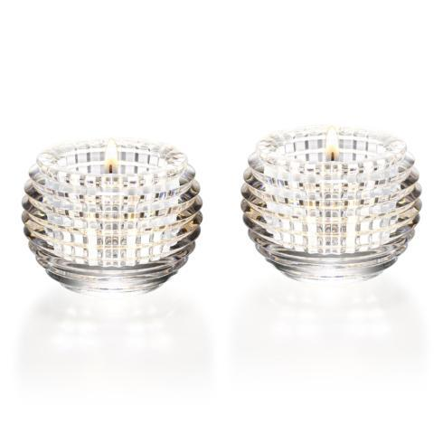 $430.00 Eye Votive Set/2 Clear