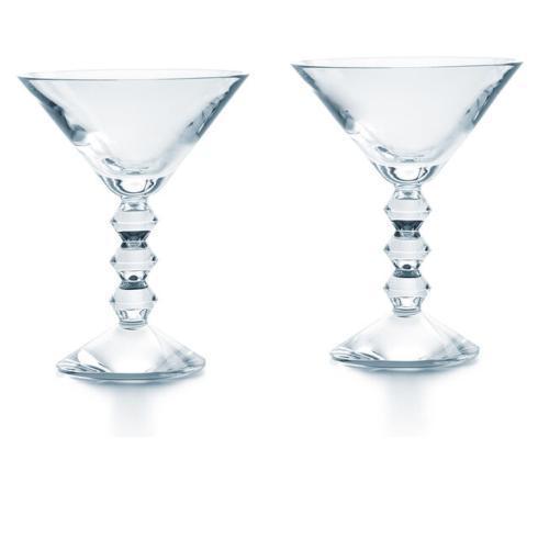 Baccarat   Vega Martini Pair $330.00