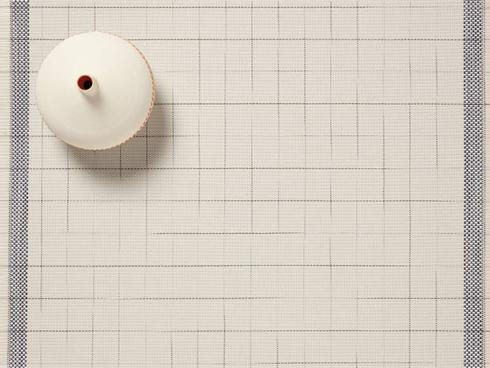 $16.50 Selvedge Placemat - Natural/Blue