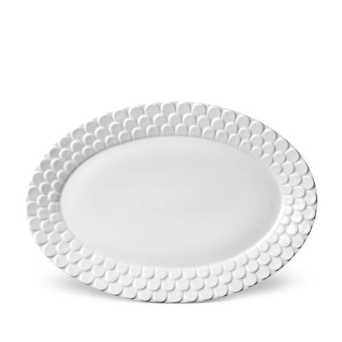 L'Objet   Aegean White Oval Platter $190.00
