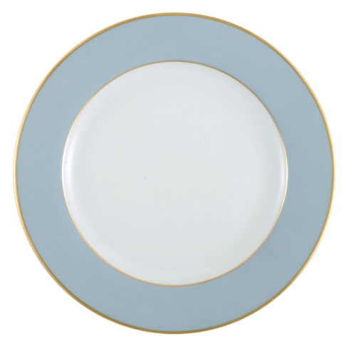 Ancienne Manufacture Royale   Elysee Service Plate Lt Blue $152.00