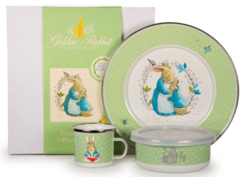 $56.25 Peter Rabbit Childs Set 3 Piece