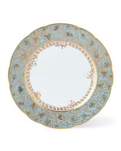 $220.00 Eden Turquoise Dinner Plate
