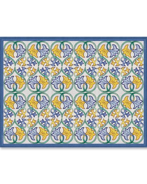 """Telki Milano   Caltagirone Placemat Color """" D"""" $16.50"""